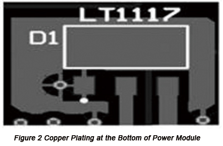 Copper plating at the bottom of power module | PCBCart