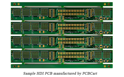 HDI PCB by PCBCart