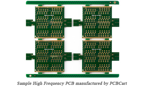 High Frequency PCB by PCBCart
