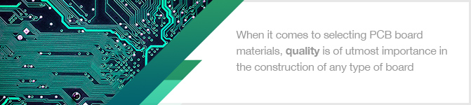PCB Material Selection Guide | Types of PCB Materials