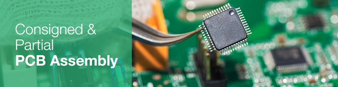Consigned and Partial PCB Assembly Service | PCBCart