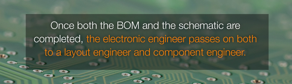 Once BOM and schematic are completed, PCB Layout Engineer and Component Engineer Will Continue The Design Work | PCBCart