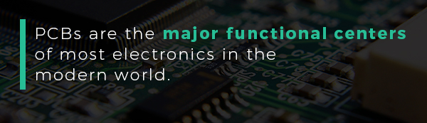 PCBs are the major functional centers of most electronics in the modern world | PCBCart