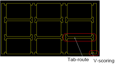 Panel as V-Scoring & Panel as Tab Route | PCBCart