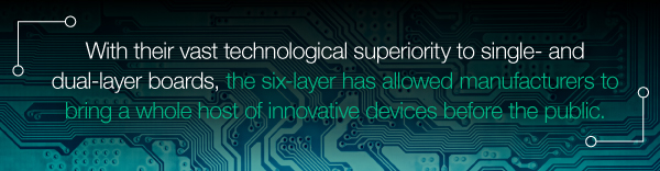 Innovative Six-Layer PCB Applications | PCBCart