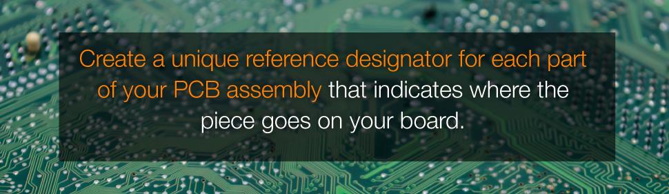 BOM Reference Designators | PCBCart