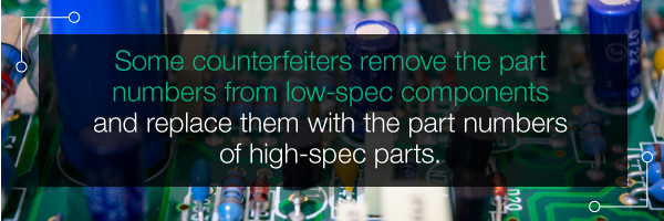 Detecting Counterfeit Electronic Components | PCBCart