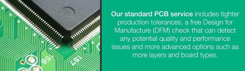 Standard PCB Services | PCBCart
